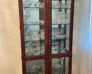 China display cabinet (with lighting)