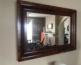 Antique Wood Framed Mirror $ 72.00