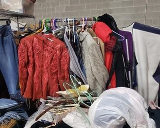 vintage ladies clothes, most still have tags!