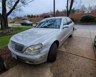 2001 Benz S 430 V8 162k miles $3600