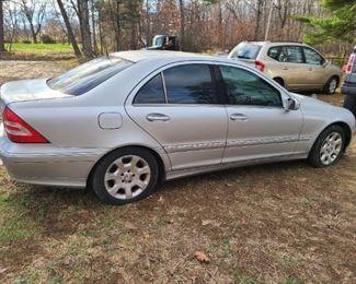 2005 C240 4 matic 177k miles $2600