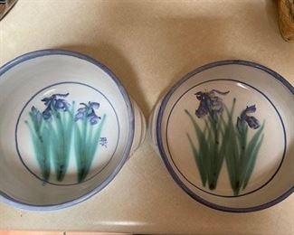 Iris Casserole Dish $35 and Iris Bowl $25