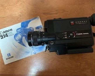 $35 Canon 514XL Super 8 movie camera