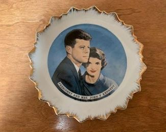 $10 Commemorative JFK Plate
