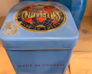$50 Vintage Swedish Optimus 80 camp stove