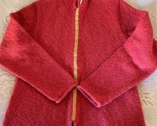 $20 Womens Size Medium Red Cotton Sweater
