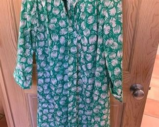 $20 Dorothy Bollet Vintage Cotton Shirt Dress Size 8