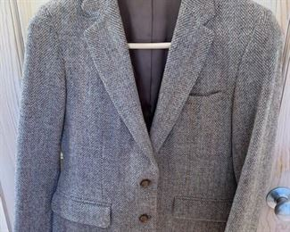 $25 Vintage Justin Lee Harris Tweed Wool Blazer L/M