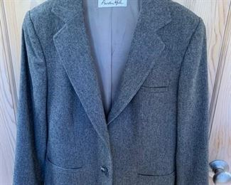 $25 Vintage Harris Tweed Wool Jacket Size (Small)