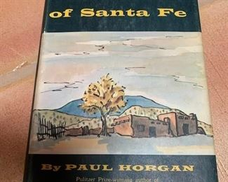 $10  'The Centuries of Santa Fe', Horgan, signed 1st ED