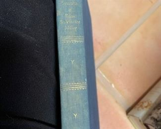 $10 'Collected Sonnets of Edna St Vincent Millay', 1st ED