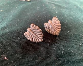 $30 Vintage Taxco sterling clip earrings