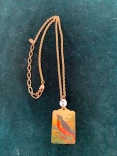 $20 Bird Necklace 14 1/2''