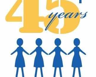 Four Sales 45 Years Full Logo
