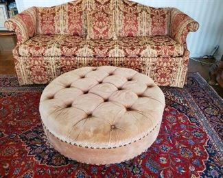 Several Oriental Rugs and Furniture