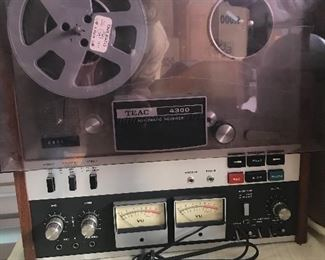 TEAC 4300 reel to reel
