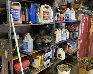 Misc tools and garage items