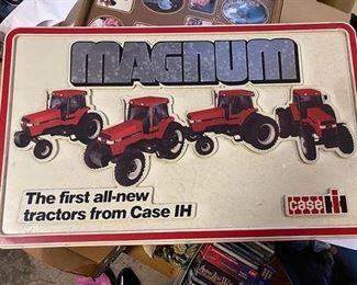 Case International Harvester sign