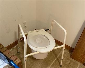 assistive devices—portable toilet
