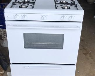 Very clean gas stove