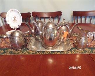 silverplate, unusual pattern
