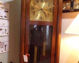grandfather clock, works