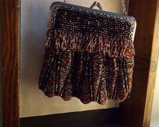 cute beaded purse