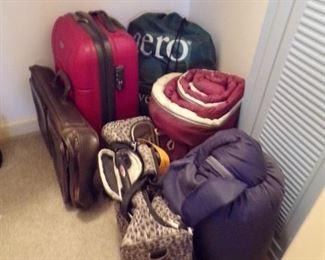 sleeping bags etc