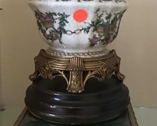 One of Many Porcelain Reproduction Bowls, Vases, Urns and Platters Made in China
