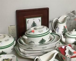 Christmas Dishes by Spode