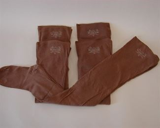 early cotton stockings (1920-1930)