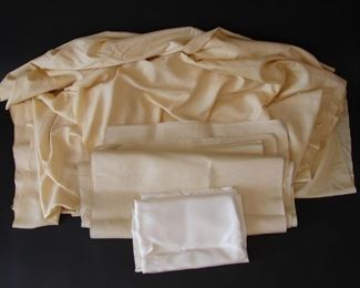 Antique Victorian deadstock fabric yardage in silk