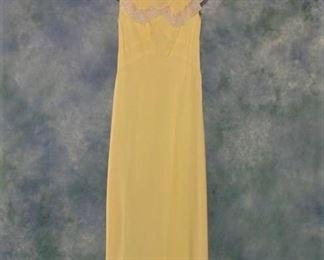 Vintage 1930s bias cut nightgown