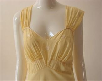 Vintage 1930s bias cut gown or lingerie