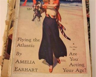 Lot of 1930s American magazines