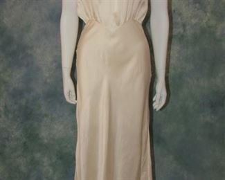 1930s bias cut gown or lingerie