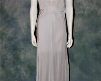 BEAUTIFUL IN PERSON! 1930s bias cut gown or lingerie
