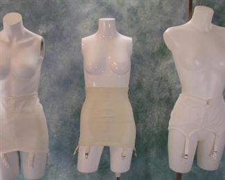 lot of vintage girdles (lot contains more than what is shown in this photo)