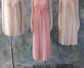 Vintage lingerie sets - these have matching robes