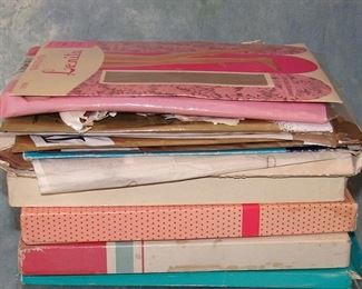 Lot of vintage nylons -  there are many, many pairs hiding in these boxes