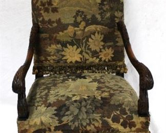1 - Antique Arm Chair 24 x 21 x 45