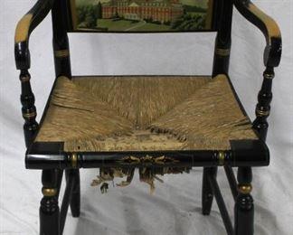 4 - Antique Arm Chair - University of IL 20 xx 33 1/2 x 16