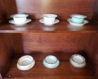 Large ramekin collection ! Limoges and more