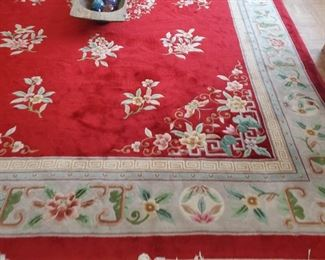 11 x13 Chinese wool rug