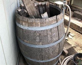 Vintage barrels