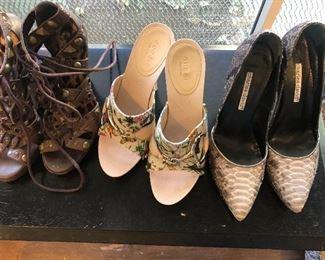 Gucci, Charles David shoes
