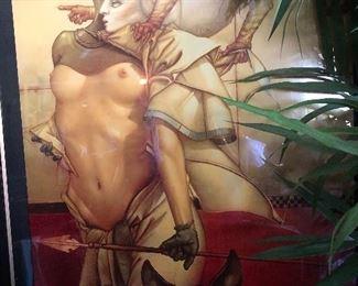 Special commissioned Michael Parkes prints