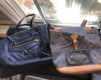 Vintage Louis Vuitton backpacks