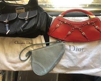 Christian Dior purses