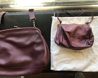 Miu Miu purses